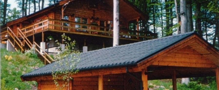 Lofthus från Mårtsbo Timmerhus