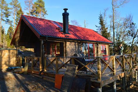Sunnemo från Holebergs Timmerhus
