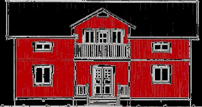 Vännäsgården från Anderssons Trähusfabrik