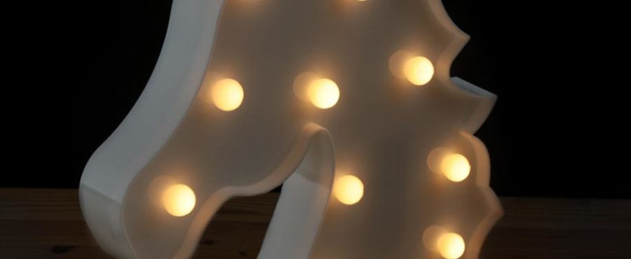led-lampa Enhörning