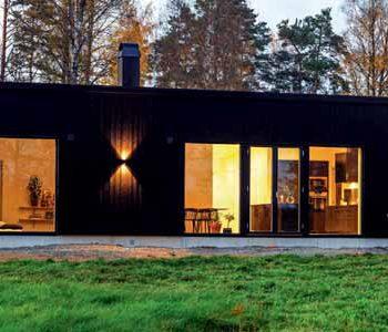 Huset Ängsvik från Rörvikshus