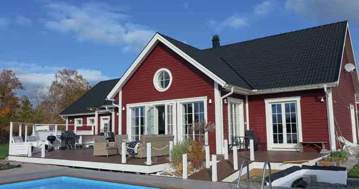 Villa Varm med energisnåla hus