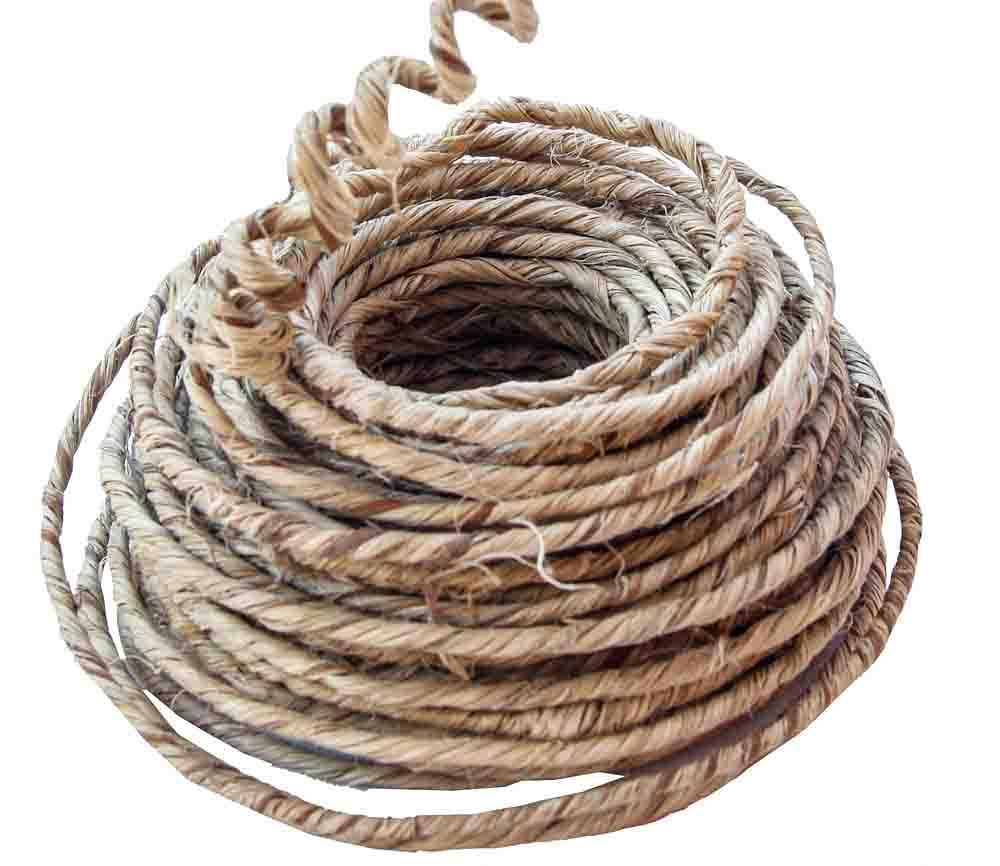 Jutesnöre med ståltråd från Locke Gård