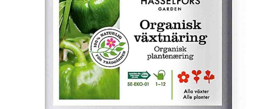 Krav-märkt flytande växtnäring