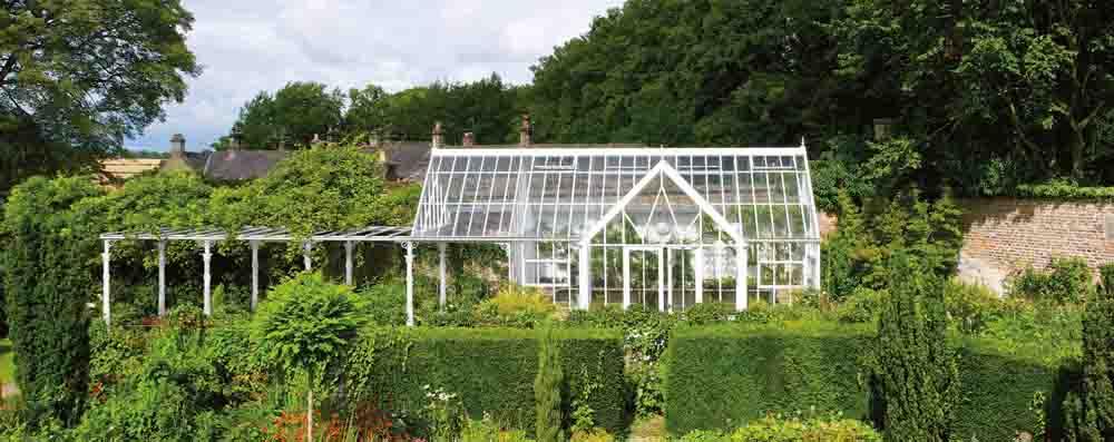 Hartley Botanic pergola hos Vansta Trädgård