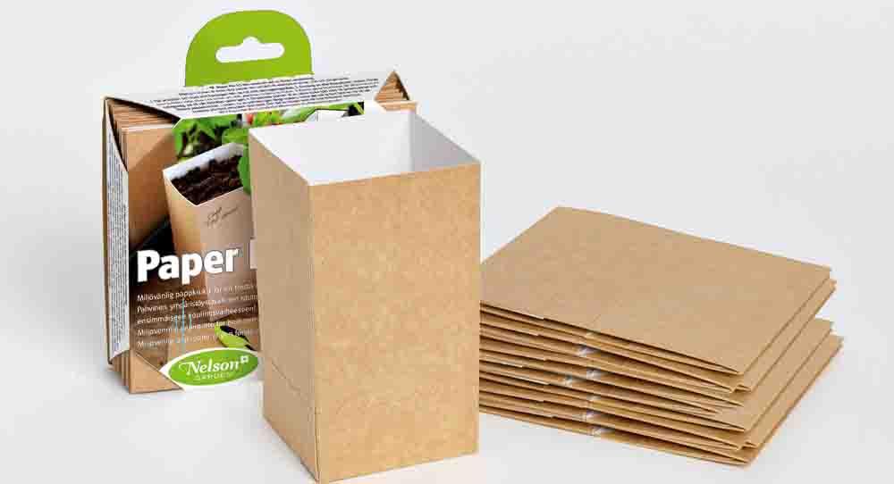 Nelson Gardens Paper Pot