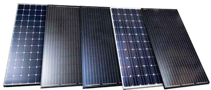 Energimyndighetens test av solceller