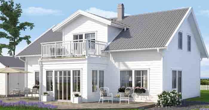 Villa Björkö från A-Hus