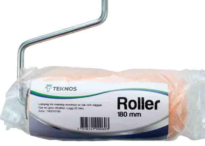 Teknos roller sortiment