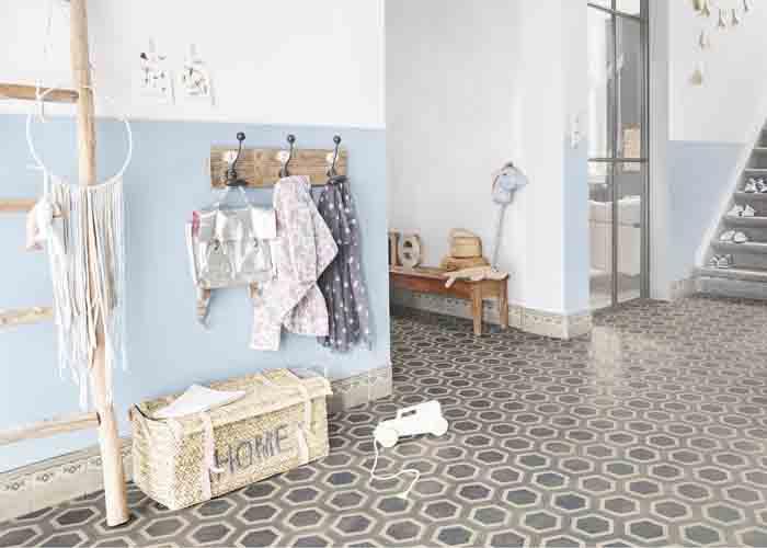 Trend 260 Honey Comb Tile Blue