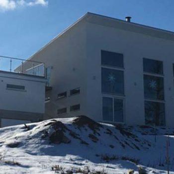 Husvisning av arkitektritat hus