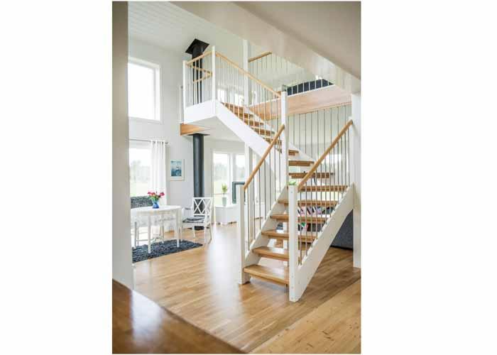Snickarlaget tillverkar trappor