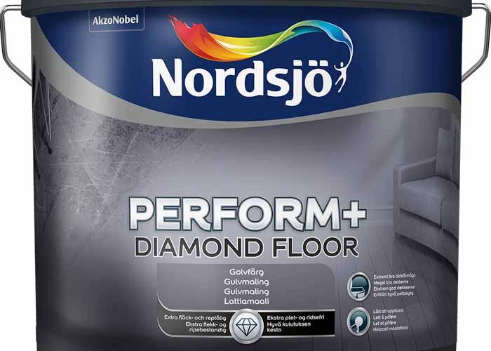 Nordsjös nya golvfärg Perform+