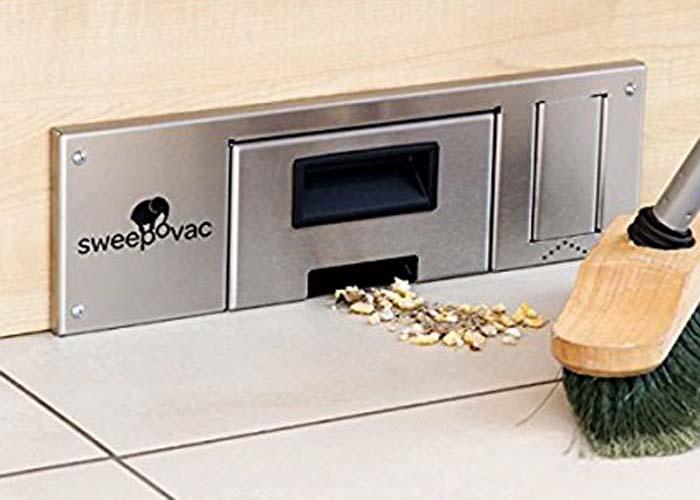 Sweepovac är en sockeldammsugare