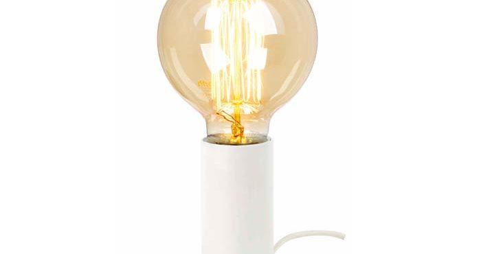 Stilren bordslampa