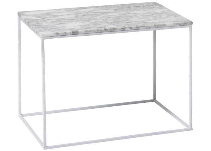 Rektangulärt bord i metall