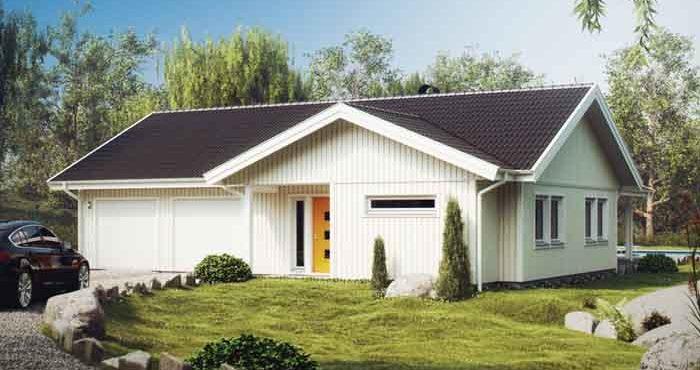 Villa Almenäs från Eksjöhus