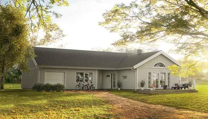 Villa Kärleksörten från Ekeforshus