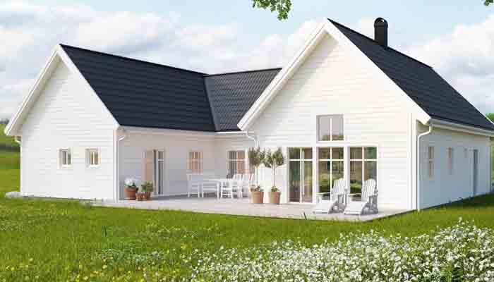 Villa Höganäs från Trivselhus