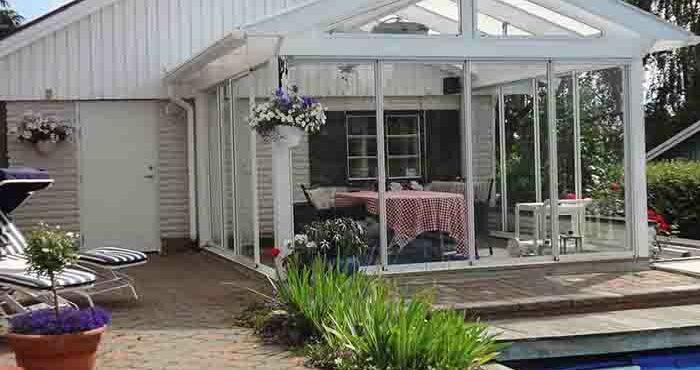 Växthus-paviljonger och uterum