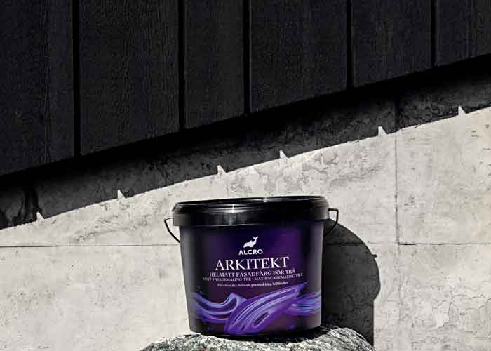 Akrylatfärgen Alcro Arkitekt