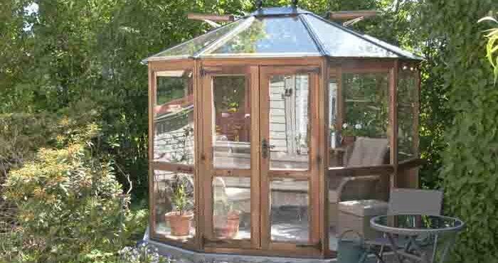Garden&Greenhouse enkelglasade växthus