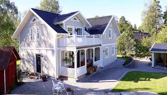 Villa Kaptensgården från Eksjöhus