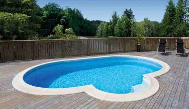 Pool för sköna bad