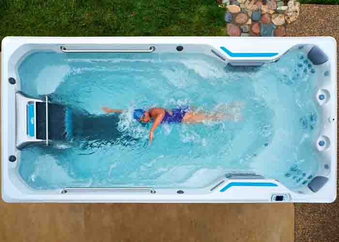 Endless Pool är kompakt