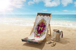 Ljuvliga badhanddukar till sommardoppet