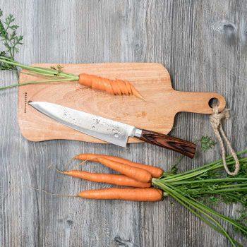Klassisk kockkniv från Tamahagane