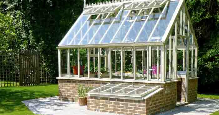 Engelska växthuset Botanic greenhouse