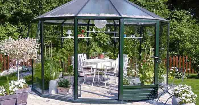 12 kantiga växthuset Rondo