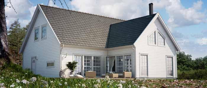 Villa Hampton från Ekeforshus