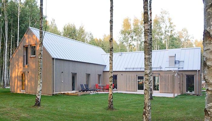 Villa Klövsjö från Arvesund
