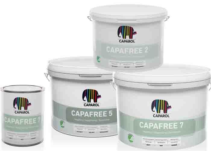 Caparols Svanenmärkta takfärgsserie Capafree