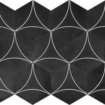 Marrakech Designs almost black/white