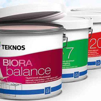 Teknos Biora nya inomhusfärger
