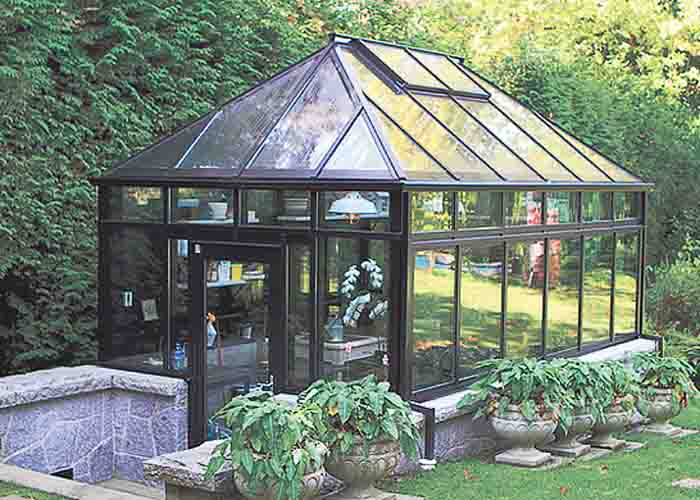 Estate Greenhouse i dubbelglas
