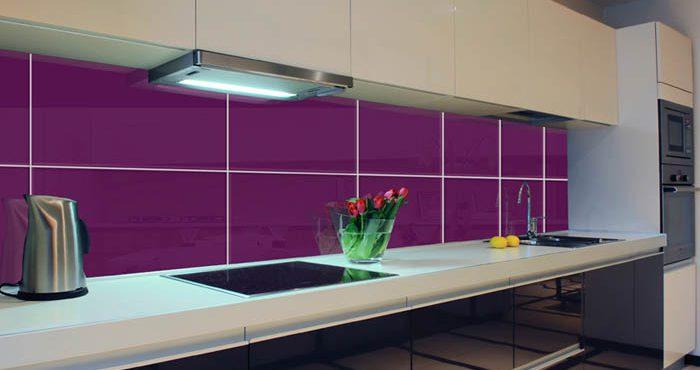 Skräddarsytt köksglas från Glasgiganten